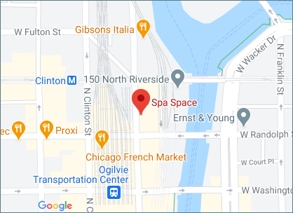 Spa Space Chicago Map